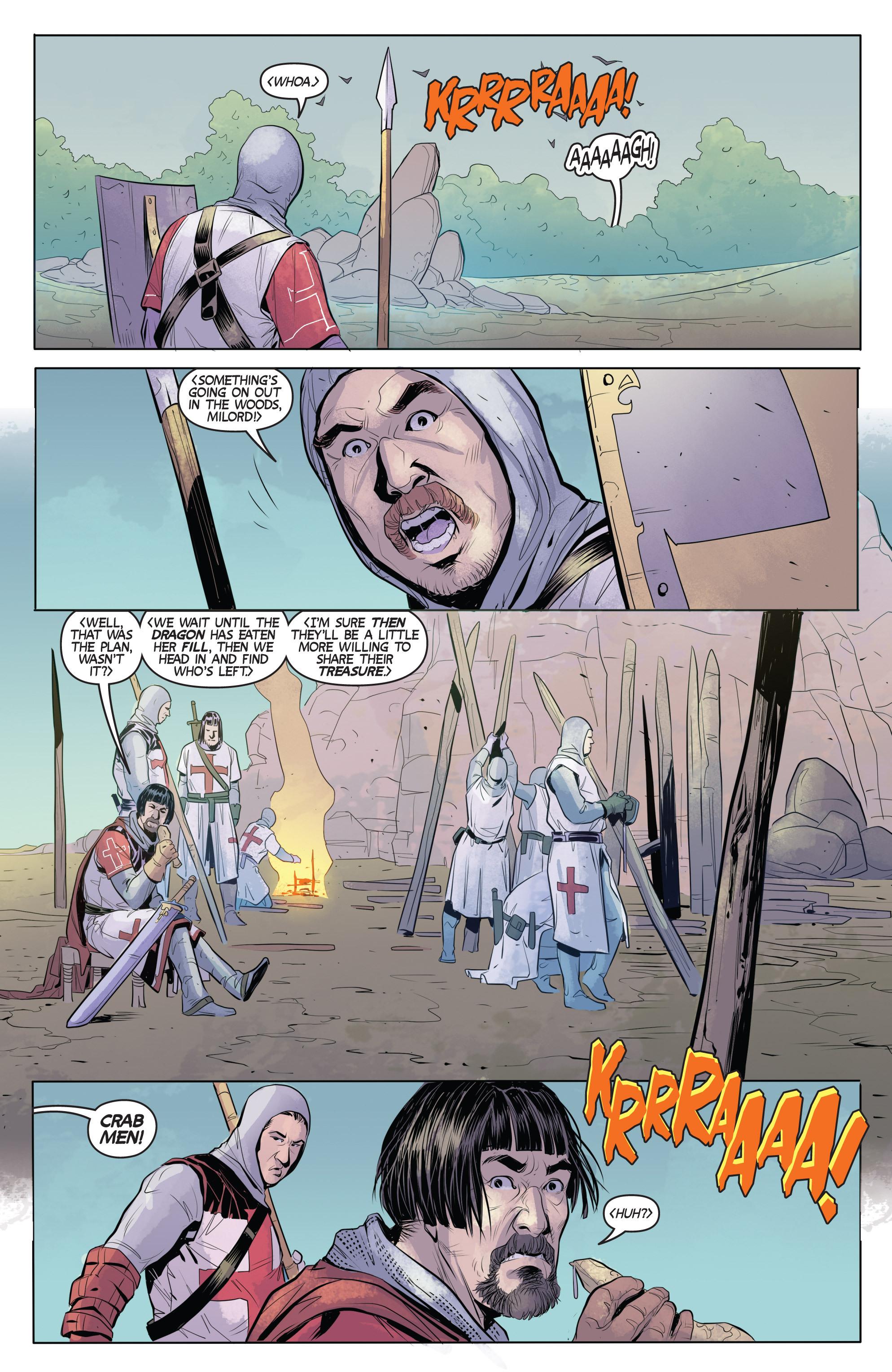 Read online Turok: Dinosaur Hunter (2014) comic -  Issue # _TPB 1 - 71