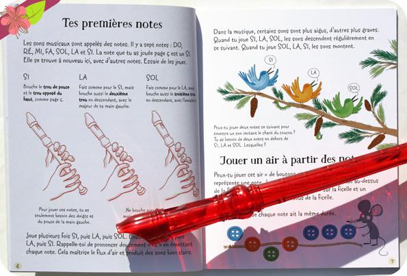 Coffret La flûte à bec pour débutants - éditions Usborne