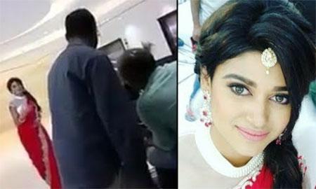 Bigg Boss Oviya Saravana Stores Ad – Shooting Spot Leaked Video