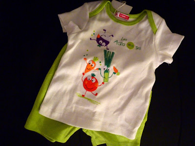 Cute outfit for vegan babies