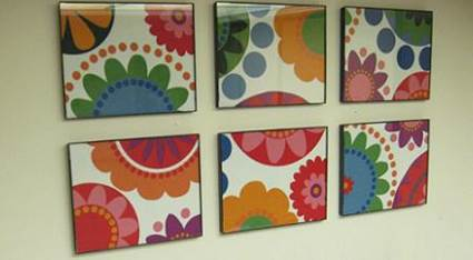 How Pictures Made From Fabric Scraps 6