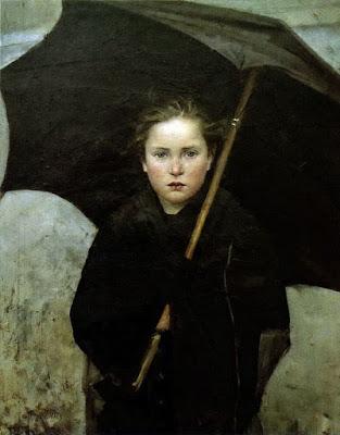 Le Parapluie (1883), Marie Bashkirtseff