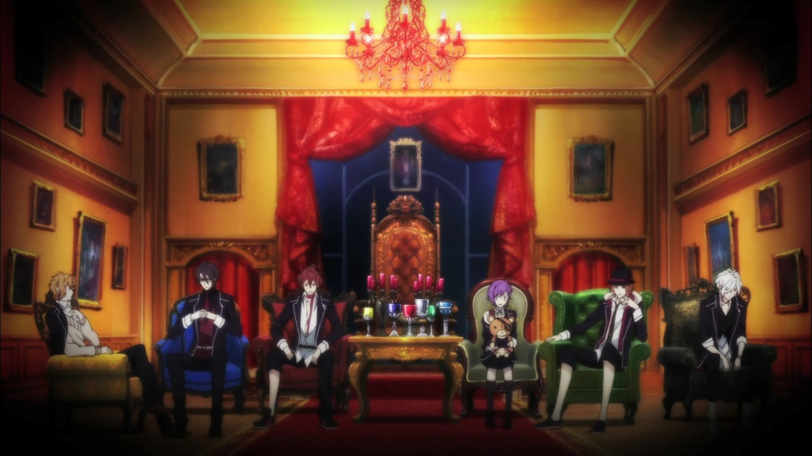 Diabolik Lovers Cap - 12