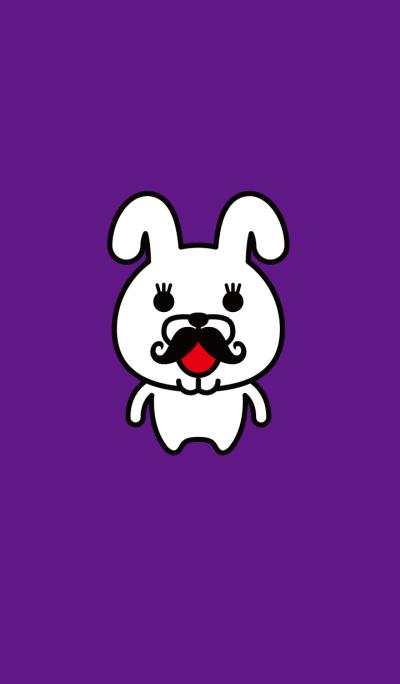 Mustache Rabbit Chan