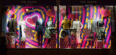 Ted Baker Window Display