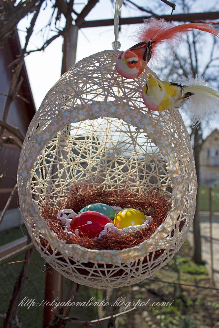 Как сделать гнездо для яиц фото 999