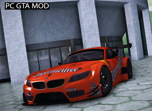 Free Download 2010 BMW Z4 GT3 - Jagermeister Mod for GTA San Andreas.