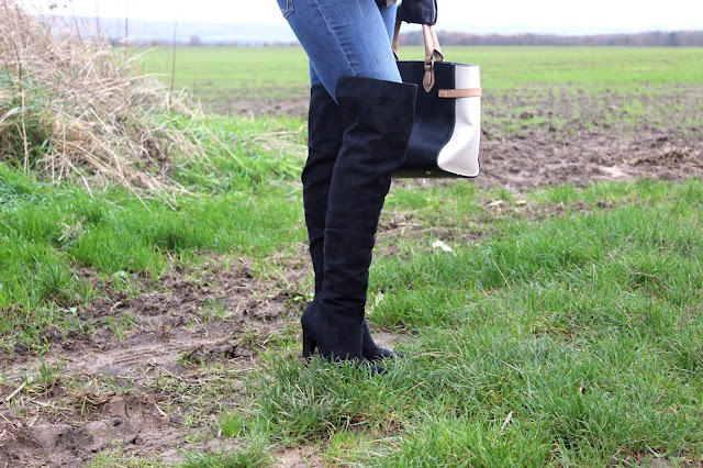 Matalan over the knee boots