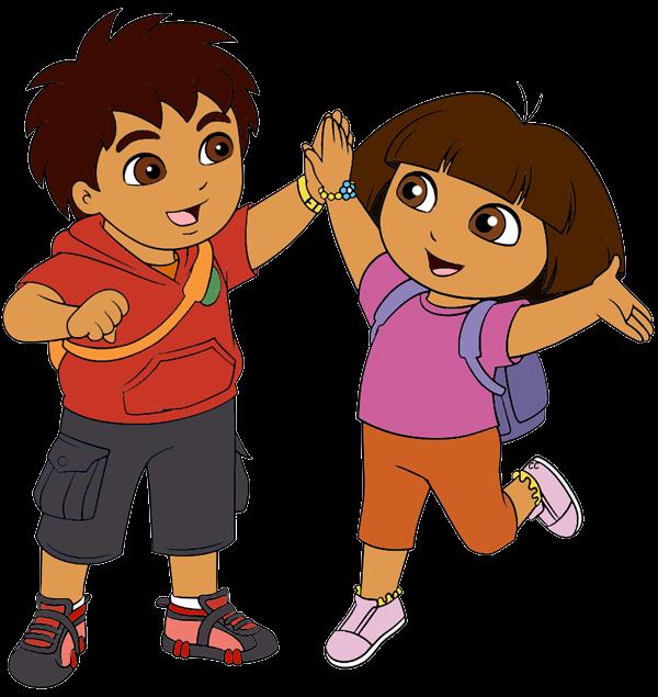Cartoons Go Diego Go: Cartoon Characters: Cartoon Cliparts (2