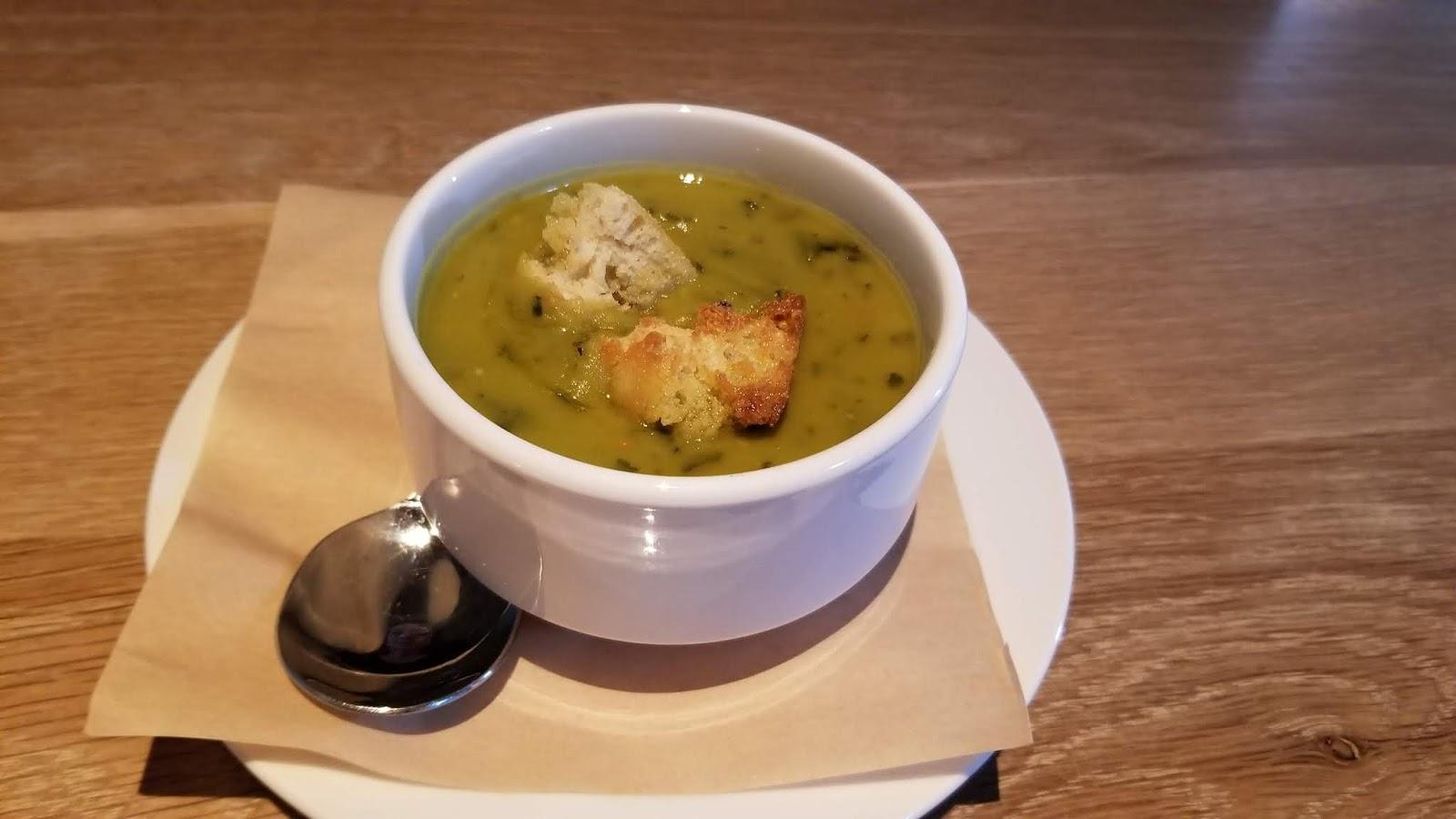 Seasons 52 split pea and kale soup