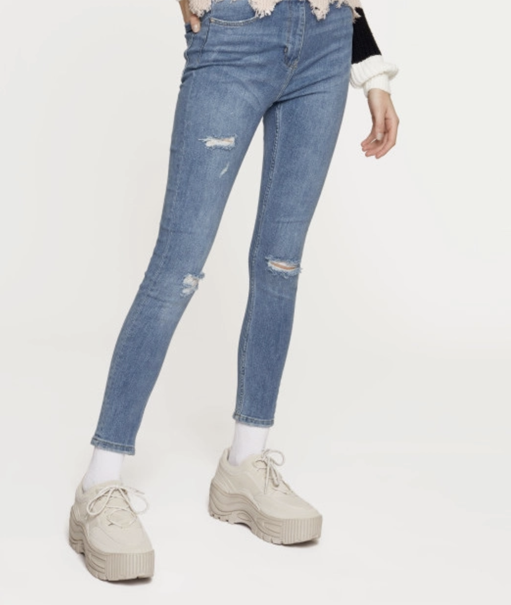 jeans strappati tally weijl