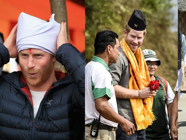 Wizyty księcia Harry'ego w Nepalu + więcej.