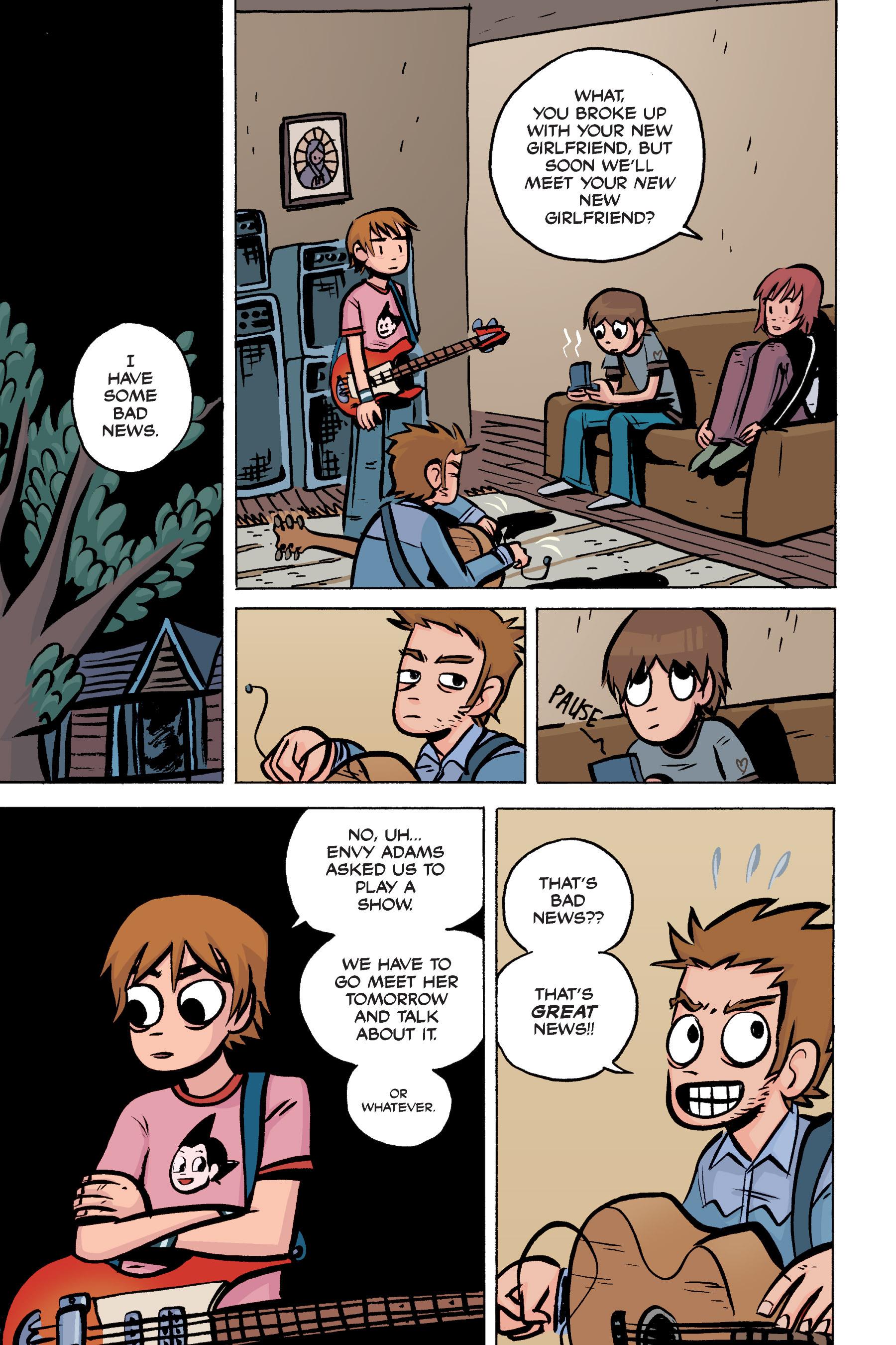 Read online Scott Pilgrim comic -  Issue #2 - 161