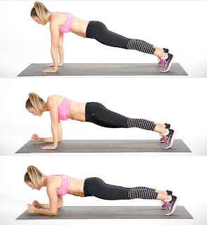 Plank Ups Abs Workout