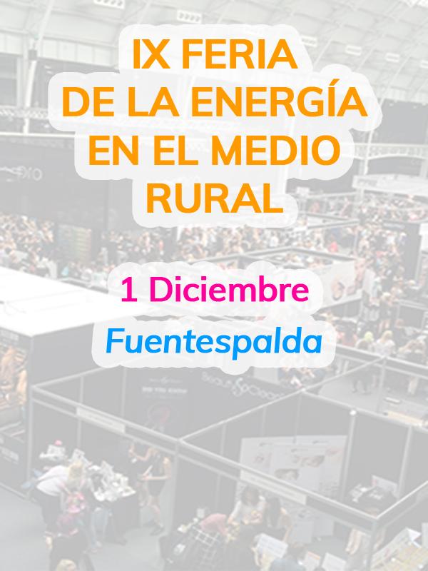 IX Feria de la Energía en el Medio Rural