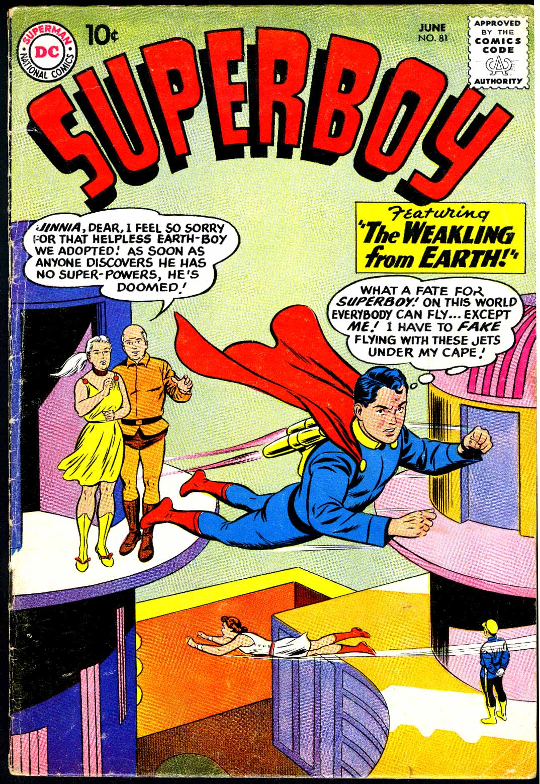 Superboy (1949) issue 81 - Page 1
