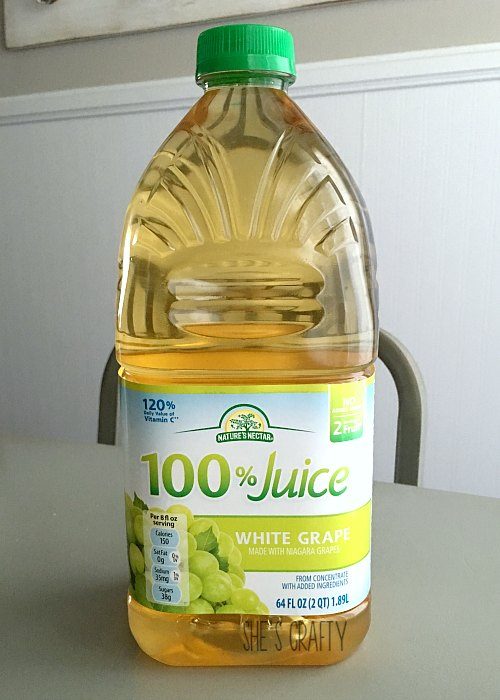 grape juice, white grape juice, juice for kids