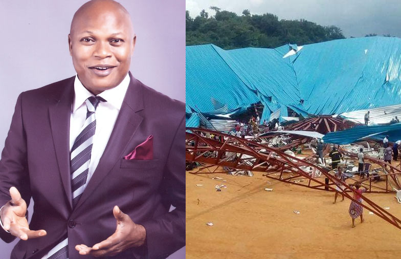 Spirit told me to move my seat - Pastor recounts how he survived Akwa Ibom church collapse