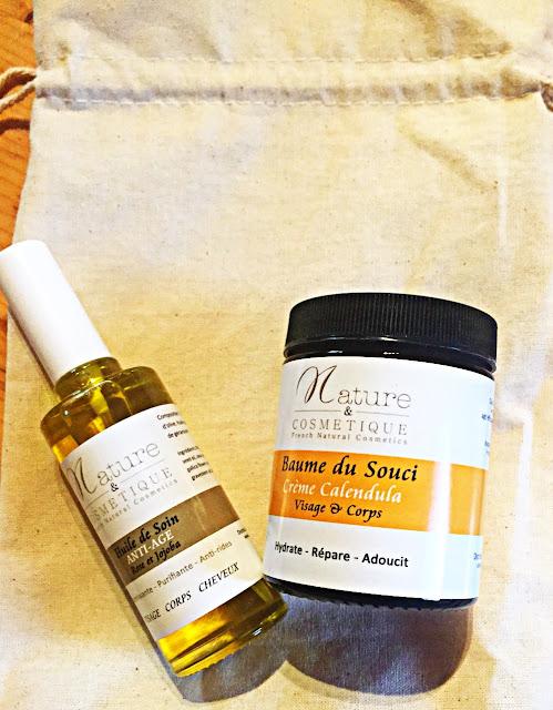 Avis crème Calendula huile soin anti-age plante