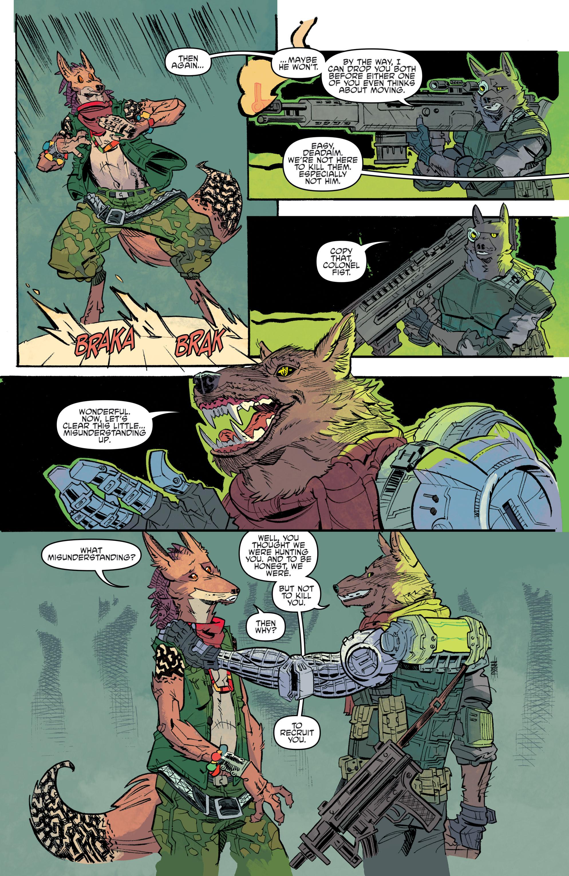 Read online Teenage Mutant Ninja Turtles Universe comic -  Issue #11 - 18