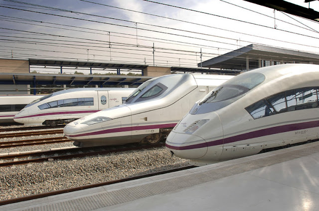 Viagem de trem de Madri a Barcelona