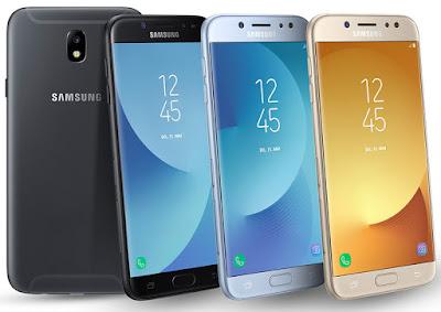 Spesifikasi Samsung Galaxy J7 2017       Smartphone ini hadir dengan layar seluas 5,5 inci beresolusi HD 720 pixel dan sudah menggunakan panel Super AMOLED, dimana lebarnya layar smartphone ini membuat aktivitas seperti menonton film, bermain game, atau browsing akan lebih nyaman. Selain itu, Samsung juga mengklaim jika panel layar Super AMOLED lebih hemat daya.   Untuk jeroannya, Galaxy J7 Core ditenagai oleh prosesor octa-core berkecepatan 1.6GHz 64bit yang dipadukan dengan 2GB RAM serta 16GB penyimpanan internal yang masih bisa diperluas menggunakan microSD hingga 256GB. Untuk sistem operasi yang dijalankan adalah Android Nougat, dimana Galaxy J7 Core memiliki fitur multi-window.  Untuk bagian fotografi, smartphone ini dibekali dengan kamera utama beresolusi 13MP dengan aperture f/1.9 yang cukup bagus untuk menangkap cahaya, sehingga membuat foto menjadi lebih terang. Sementara untuk selfie dapat menggunakan kamera depan beresolusi 5MP dengan aperture f/2.2 yang dilengkapi juga dengan LED flash. Smartphone 4G LTE ini juga dibekali dengan baterai sebesar 3000mAh, yang terbilang wajar mengingat layar yang diusung cukup besar. Untuk harganya, smartphone ini dibanderol seharga Rp2.699.000 dan tersedia dalam pilihan warna Black, Gold, dan Blue Silver.   Kelebihan   Tampilan sangat kece dan elegan dengan mengusung desain bodi metal. Layar lebar 5.5 inci resolusi 10