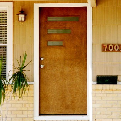 Mad for mid century picking authentic exterior colors for - Mid century front door ...