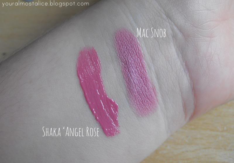 Shaka Full Colour Lipgloss | Angel Rose