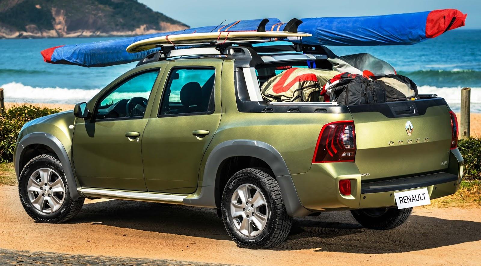 Os acessórios e itens da nova Renault Duster Oroch
