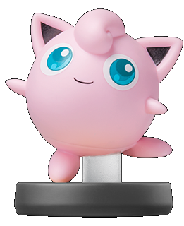 Jigglypuff amiibo official art render