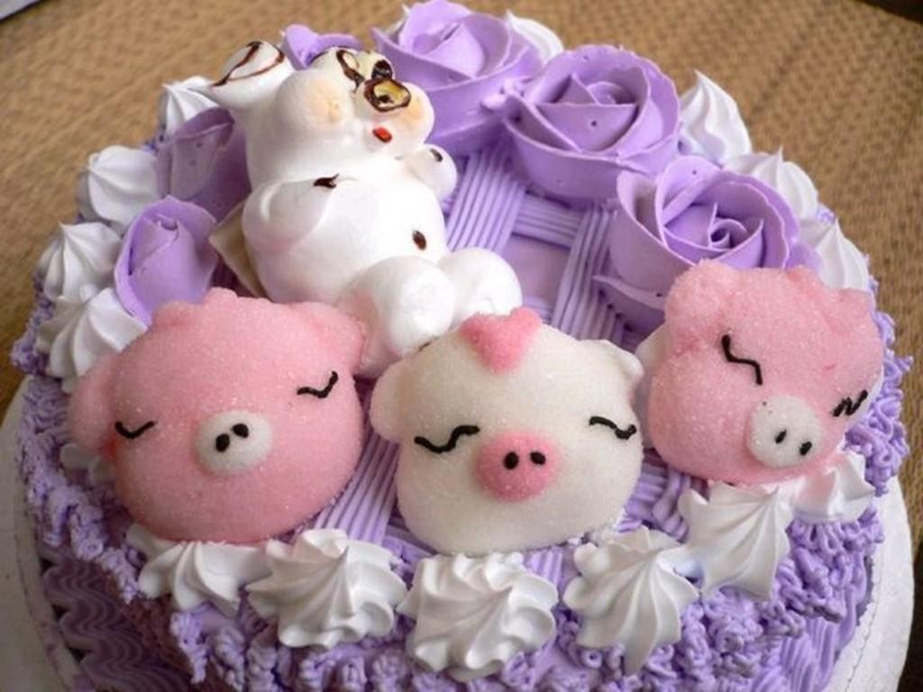 Mẫu bánh sinh nhật dành cho người tuổi Hợi