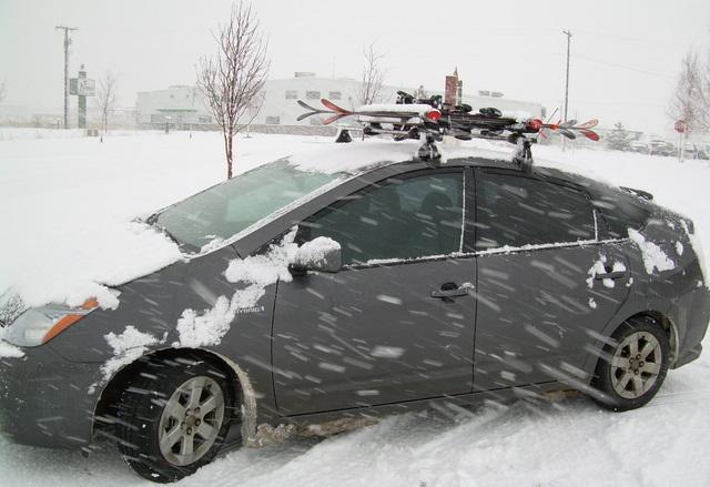 Custom Roof Rack For 2006 Toyota Pruis Backcountry Racks
