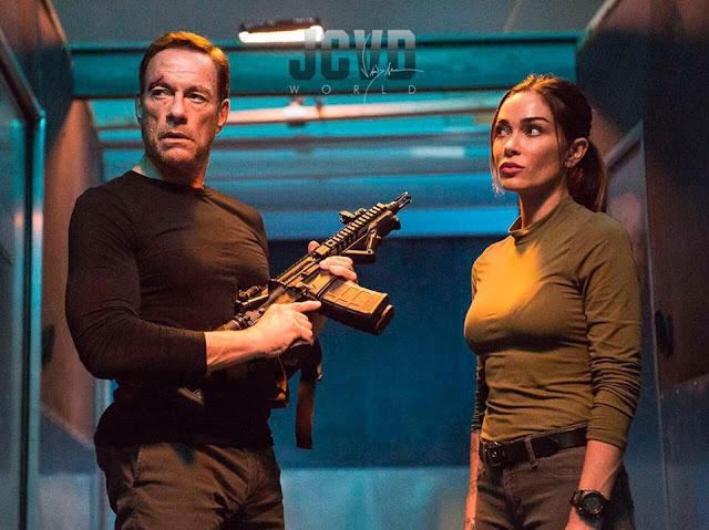 Jean-Claude Van Damme with Jasmine Waltz