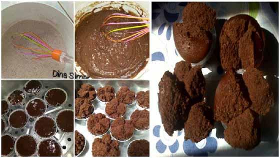 Resep Membuat Bolu Kukus Coklat No Mixer, No Telur Namun Tetap Merekah dan Lembut !