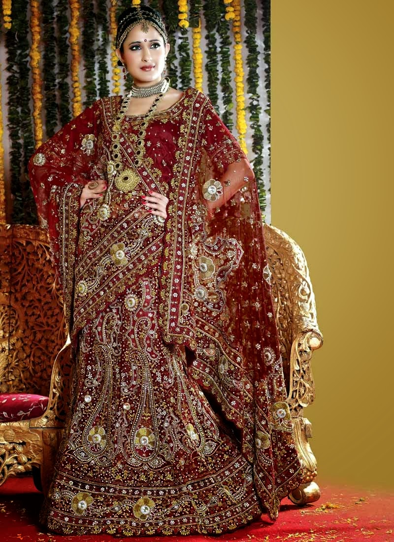 Garden Latest Admirable Bridal Dress Desigening