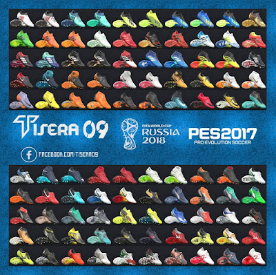 PES 2017 Bootpack v9 World Cup 2018 Edition by Tisera09