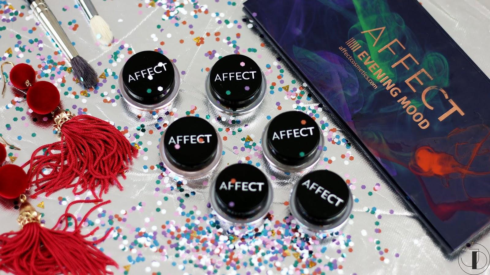 BĄDŹ CZARUJĄCA! Recenzja pigmentów od AFFECT Cosmetics Charmy Pigment + makijaż