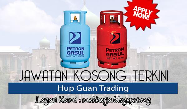 Jawatan Kosong Terkini 2017 di Hup Guan Trading