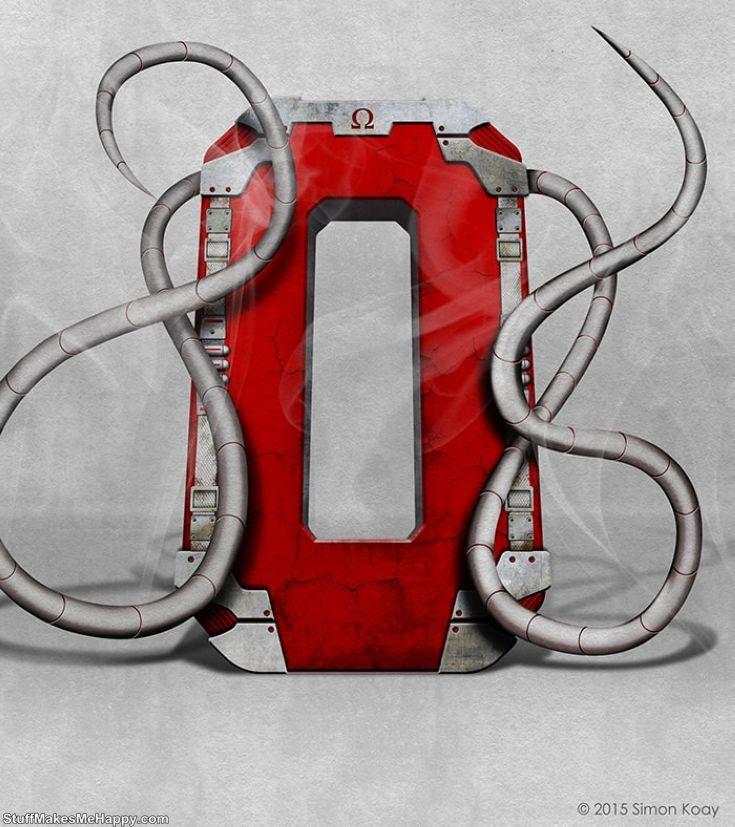 O - Omega Red