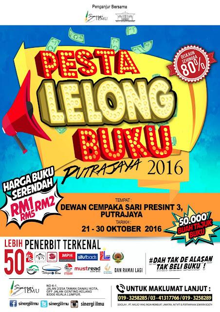 Pesta Lelong Buku Di Putrajaya