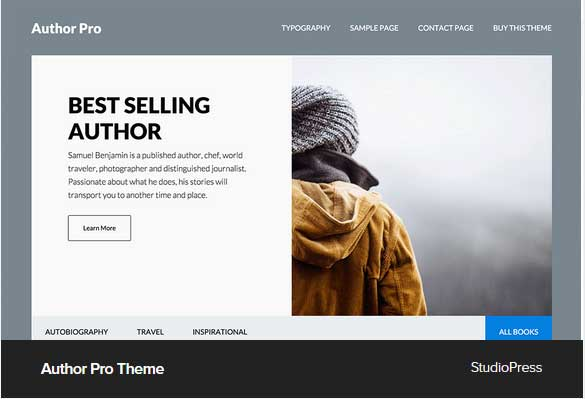 Author Pro Theme Award Winning Pro Themes for Wordpress Blog : Award Winning Blog