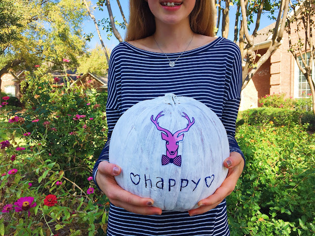 DIY Jadelynn Brooke Pumpkin // Live The Prep Life
