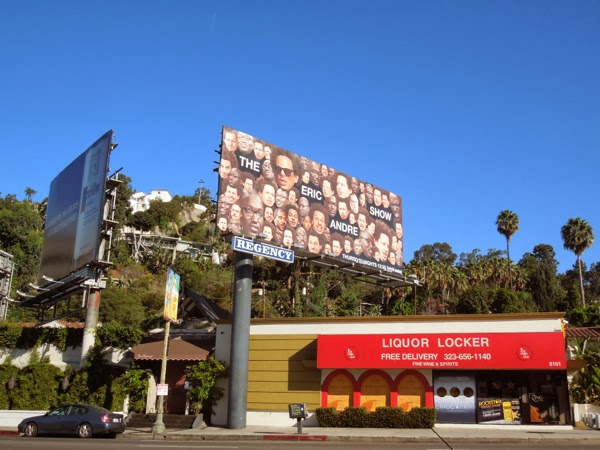 Eric Andre Show season 2 billboard