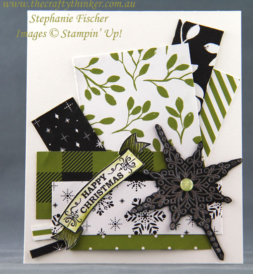 #thecraftythinker, #stampinup, #cardmaking, #christmascard, #xmascard, Christmas Card, Star of Light, Stampin' Up Australia Demonstrtor, Stephanie Fischer, Sydney NSW