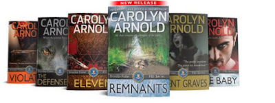 spotlight, remnants, carolyn-arnold, books, writer, writing, author, the-writing-greyhound