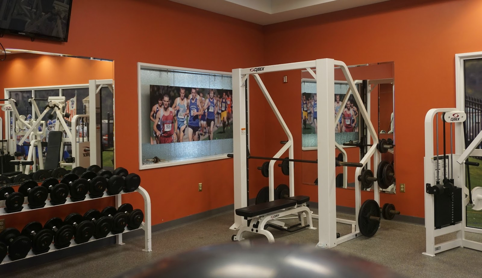 Home place august 2016 the exercise room at the red door spa in the mystic marriott vtopaller Images