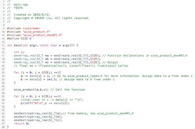 Matlab Coder Toolbox Tutorial: 九月 2016