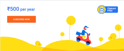 FlipKart First 1 Year Subscription Rs. 50 Off Offer