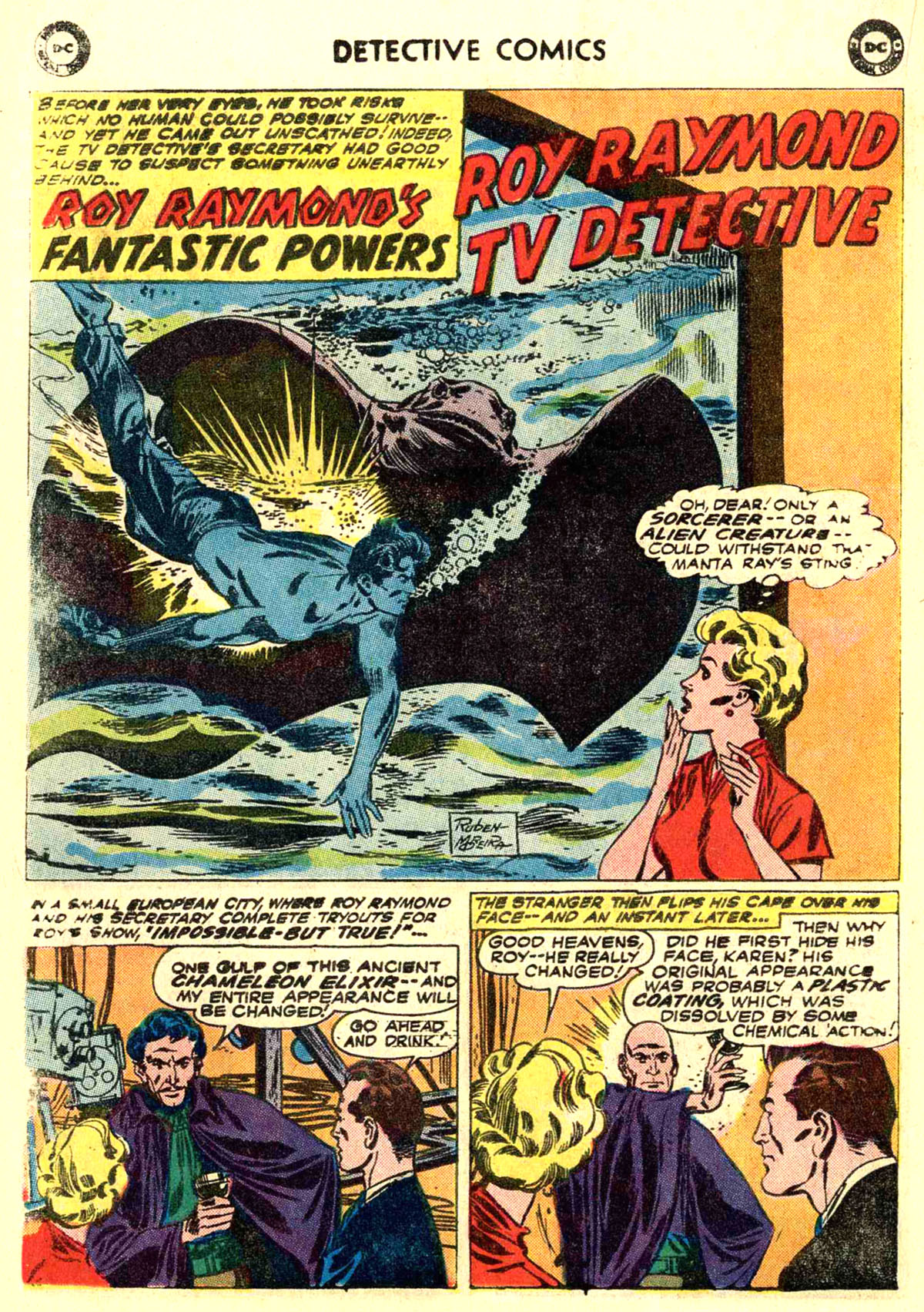 Read online Detective Comics (1937) comic -  Issue #272 - 18