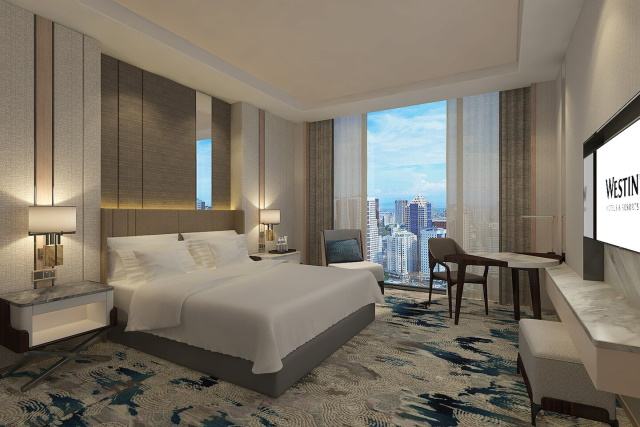 Deluxe Room at The Westin Manila Sonata Place